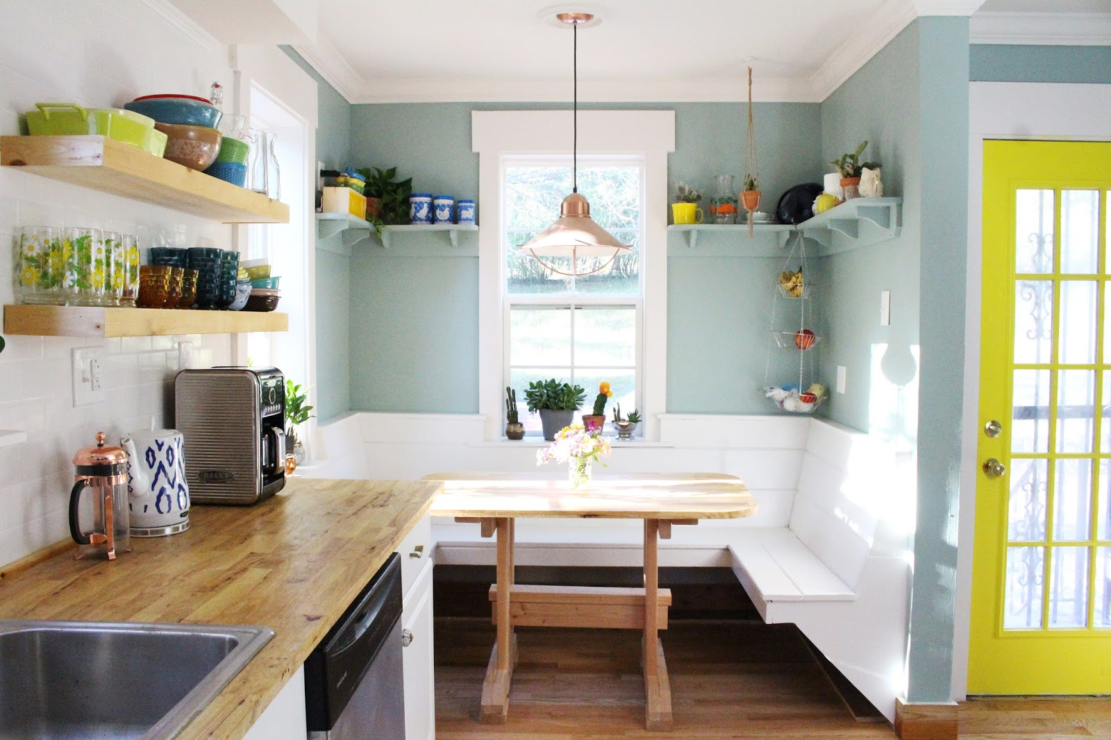 A Dramatic Kitchen Before & After