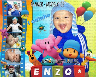 veja mais modelos para banner de decoração infantil, ótimo preço