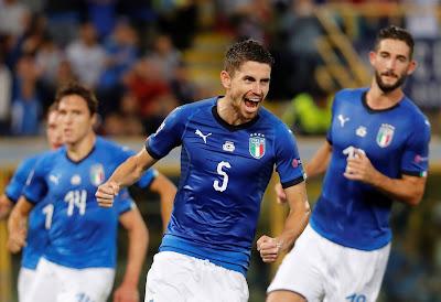 مباراة إيطاليا واليونان لايف