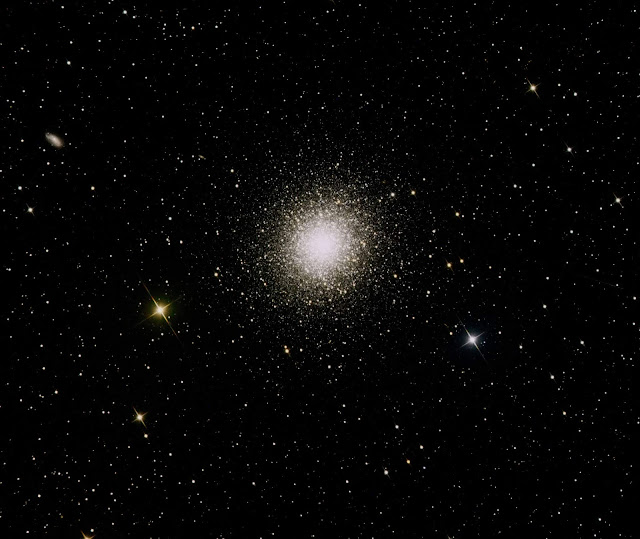 M13 - The Great Hercules Globular Star Cluster - Imaged on ATEO-1 by Insight Observatory.