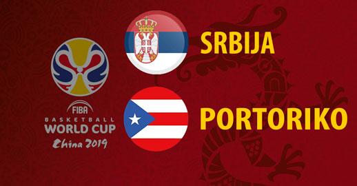 Svetsko prvenstvo u košarci: Srbija - Portoriko UŽIVO PRENOS