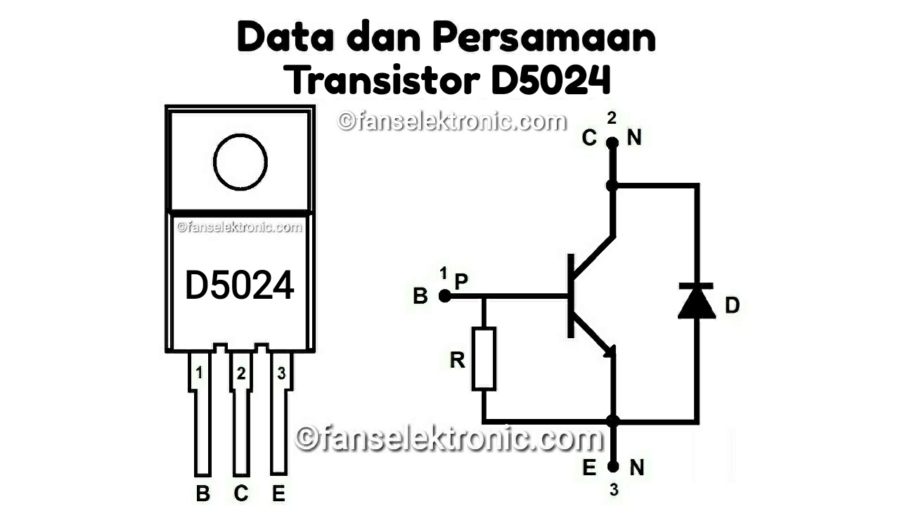 Persamaan Transistor D5024