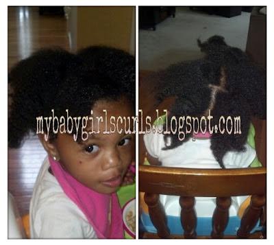 My Baby Girls Curls Hair Care Regimen