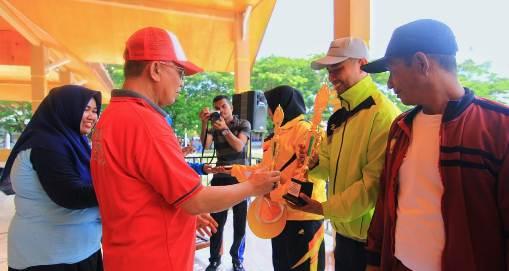 UPT TK SD Bontosikuyu, Sabet Juara Lomba Defile HUT Korpri 2018
