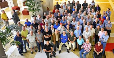 Ajedrecistas participantes en el Campeonato de España de Veteranos Calpe-2019