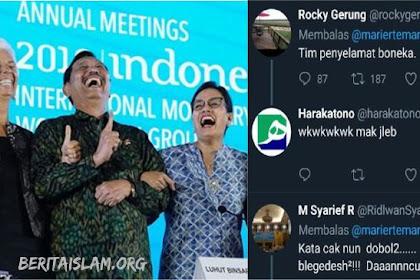"""Gara-gara Koreksi Jari di Pertemuan IMF, Komentar Pedas Rocky Gerung """"Tim penyelamat boneka."""""""