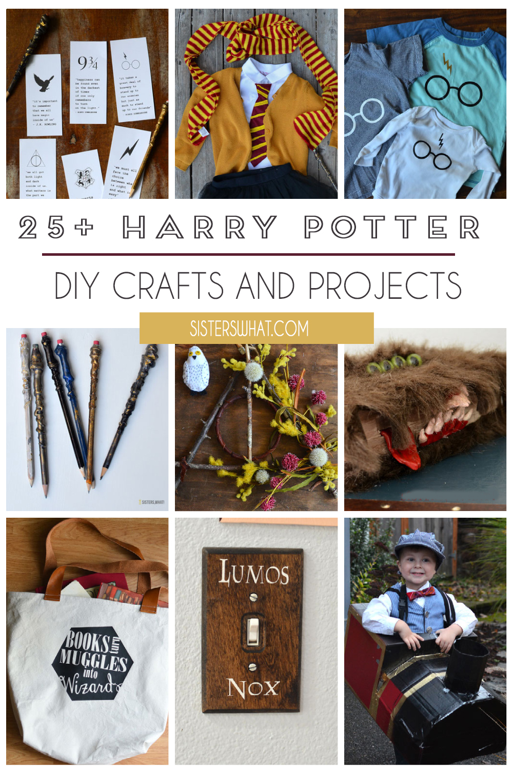 harry potter diy crafts and projects