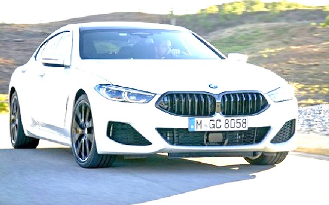 BMW launch 8 series grand coupe and M8 in India.