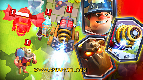 Download Clash Royale Apk Mod v1.4.1 Full Version 2016 - ApkAppsdl.com