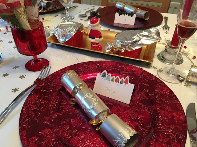 Christmas Day 2016 Table Setting