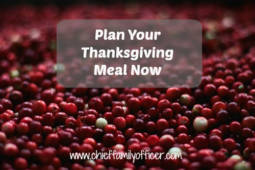 Plan Thanksgiving Now | Chief Family Officer
