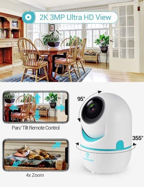 Review HeimVision HM202A 3MP WiFi Security Camera
