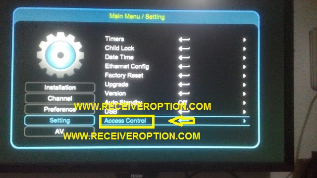 HOW TO ACTIVE COMPANY SERVER IN NEOSAT 60D HD RECEIVER