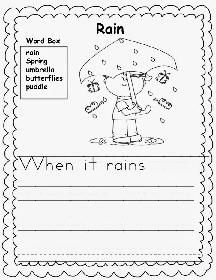 spring writing paper for kindergarten Free printable stationery including beautiful writing paper, to-do lists, reminder notes, phone message pads as well as shopping and grocery lists.
