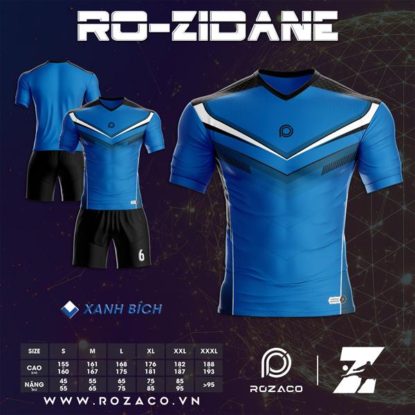 Áo Không Logo Rozaco RO-ZIDANE Màu Bích Nhạt
