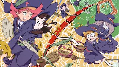 Little Witch Academia (TV) (25/25) + OVA (120MB) (HDL) (Sub Español) (Mega)