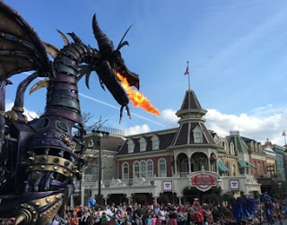 Taking It Back - Walt Disney World - Maleficent Dragon