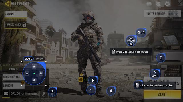 APK OBB ini untuk di test di emulator Tencent Gaming Buddy APK OBB File Garena Call Of Duty Mobile CBT Tencent Gaming Buddy