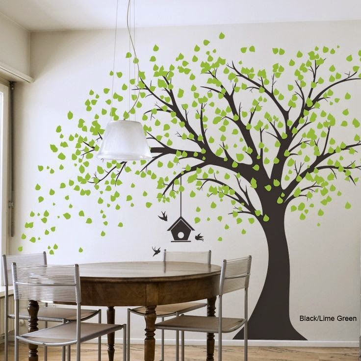 Tree wall decals Part 1 - Kerala home design and floor ...