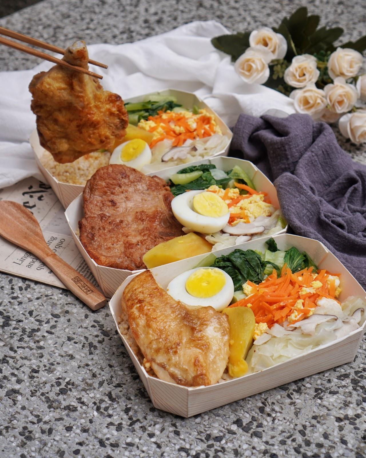【防疫美食推薦】高CP外送外帶熱門低卡餐盒《日日好食》份量超多食材用料不手軟,除了賣爆紅的蘿蔔糕以外,也是台南首間低卡餐!