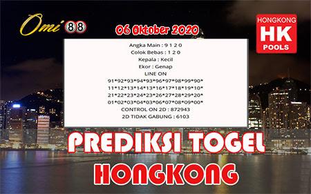 Prediksi Togel Omi88 Hongkong Selasa 06 Oktober 2020