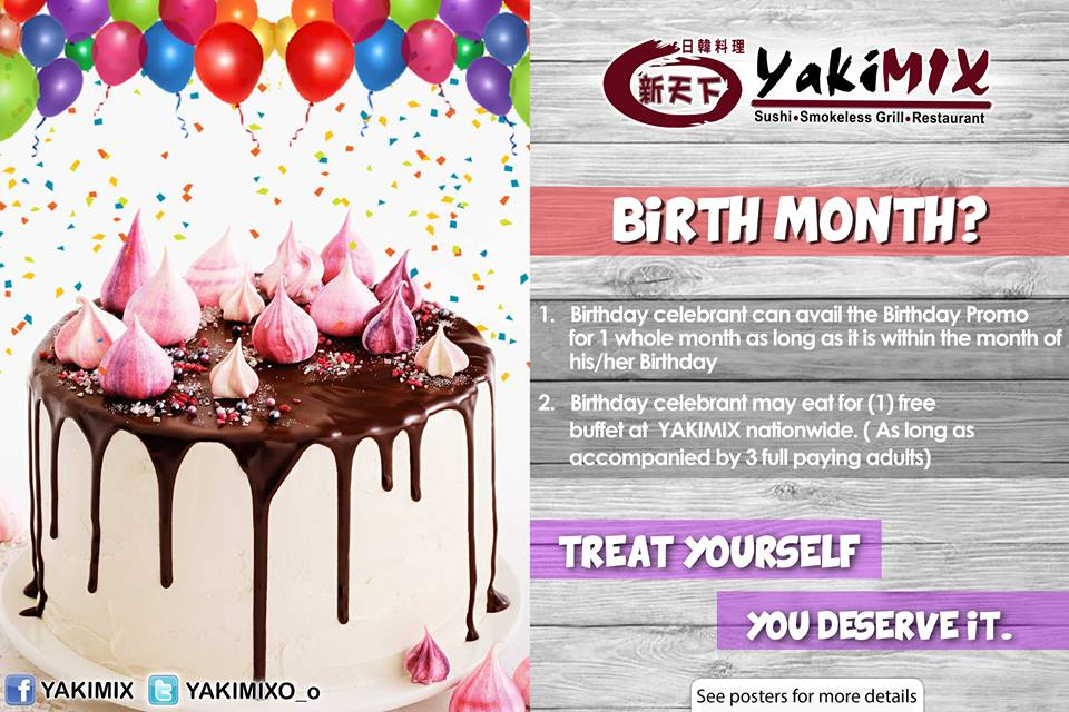 Eat For Free On Your Birthday: Vikings Birthday Promo
