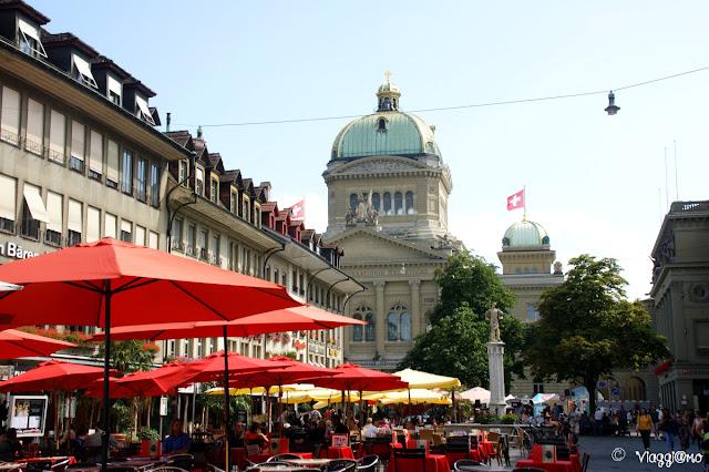 Piazze di Berna Bundesplatz e Berenplatz