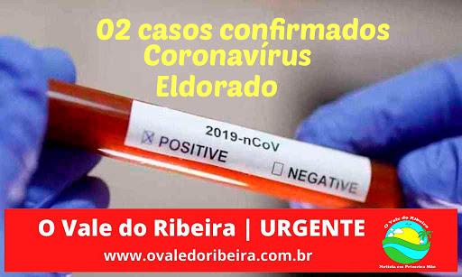 Eldorado confirma 02 casos positivos de Coronavírus - Covid-19