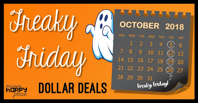 Freaky Friday Dollar Deals October 2018