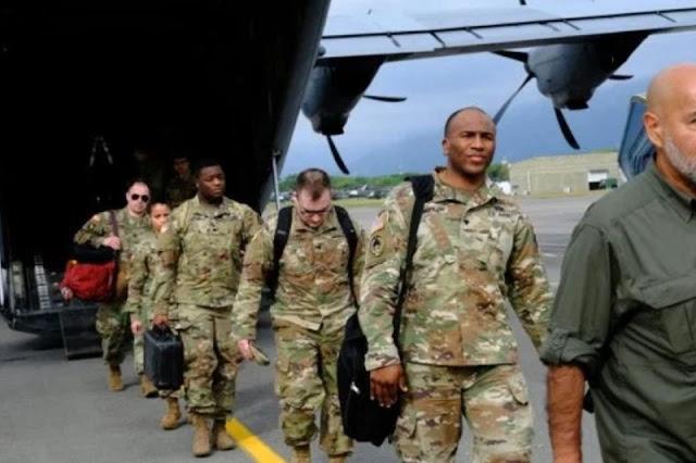 Un total de 75 paracaidistas de la base Fort Bragg arribaron en un Boeing C-17 Globemaster a Tolemaida en Carolina del Norte, y 40 integrantes del Comando Sur para iniciar primer ejercicio estratégico multinacional que se realizará entre el 23 y 29 de enero.