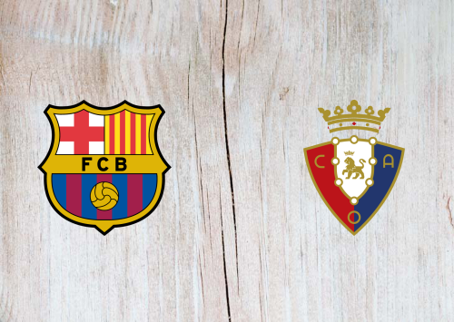 Barcelona vs Osasuna -Highlights 29 November 2020