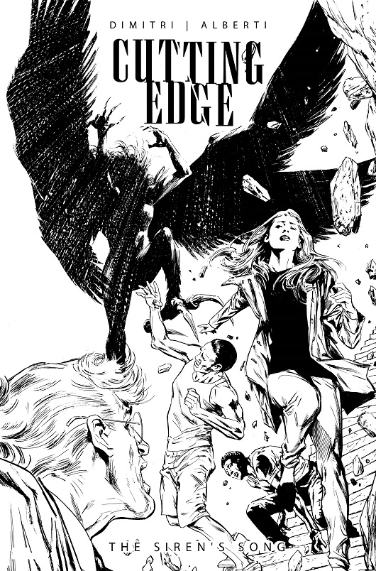 Cover of Cutting Edge Sirens Song #1