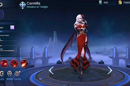 Review dan Analisis Skill Hero Terbaru Mobile Legends Carmillia The Vampire