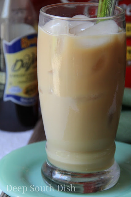 It's a little more than just pouring leftover coffee over ice cubes and pouring in milk, but you can make your own cold brewed, iced coffee right at home and it's super easy!