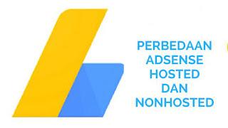 Akun Adsense Hosted dengan Adsense Nonhosted