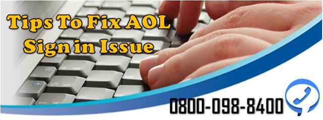 Tips to fix aol login error
