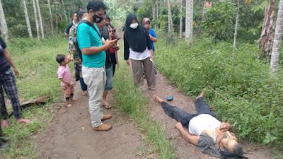 Heboh, Sesosok Mayat Ditemukan di Munggu Tanah Sawah Kandang - Jorong Batu Palano Selayo