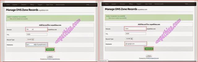 Cara mudah custom domain blogspot