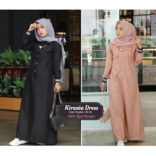 Jual Baju Busana Muslim Kirania Dress
