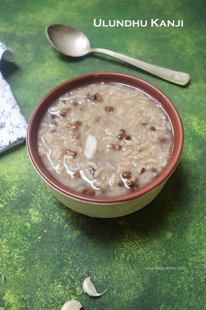 Ulundhu Kanji Recipe | Black Urad Dal Porridge Recipe | Karuppu Ulundham Kanji