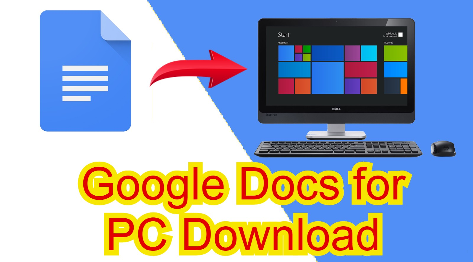 google docs free download for windows 8