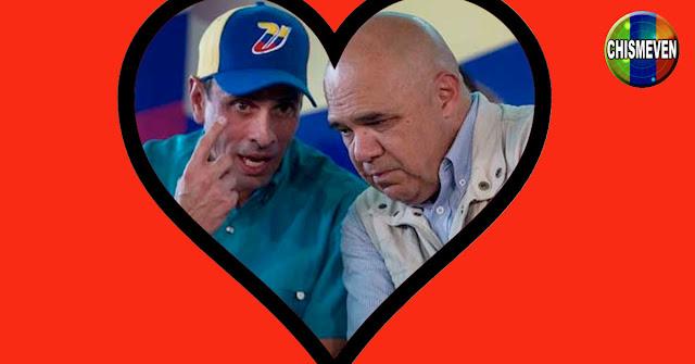 NO ES RARO   Chúo Torrealba le lanza dardos a MariCori y Flores a Capriles