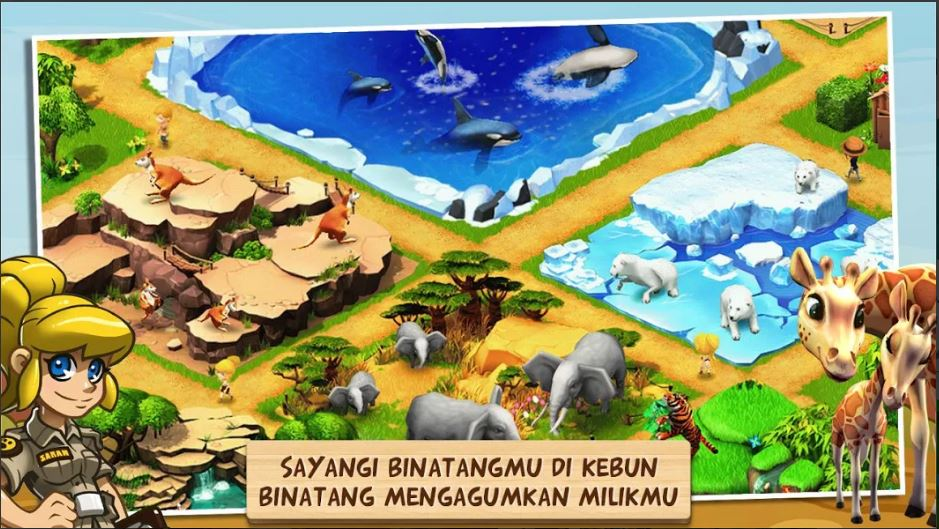 download Wonder Zoo - Animal rescue! Mod Apk 2.0.1c [Unlimited Money] Terbaru 2020 1