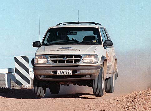 Ford Explorer outback