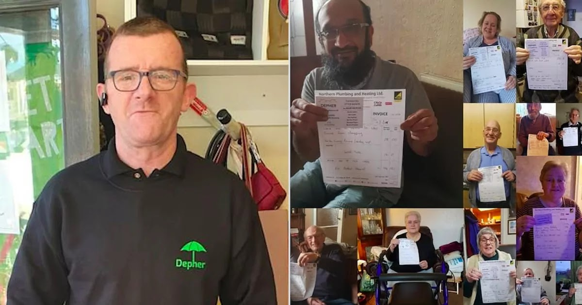 Kind-Hearted Plumber In England Helps 10,000 Families Fix Their Heating For Free During The Pandemic