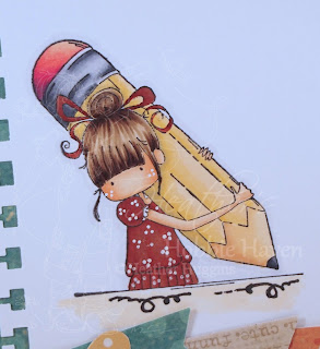 Heather's Hobbie Haven - Penelope Has a Pencil Card Kit