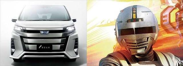 トヨタ新型ノア 宇宙刑事ギャバン 似てるらしい