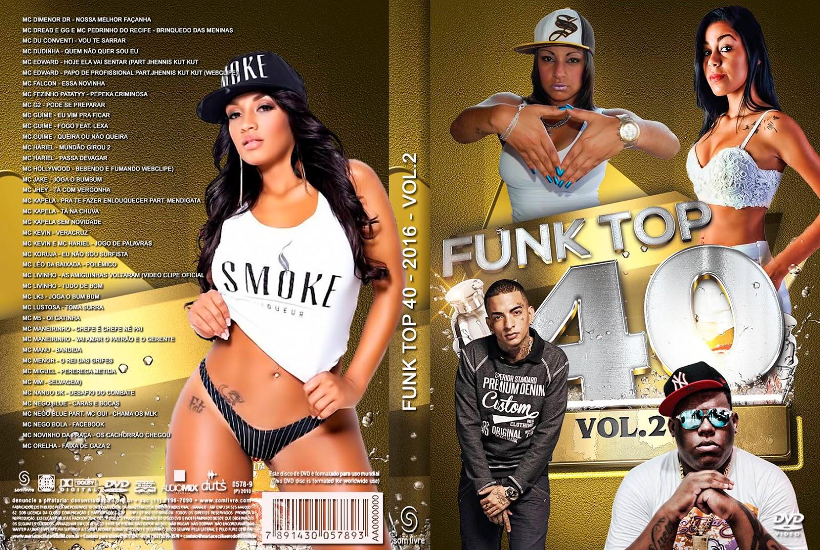 Funk Top 40 Vol.2 DVD-R Funk 2BTop 2B40 2BVol
