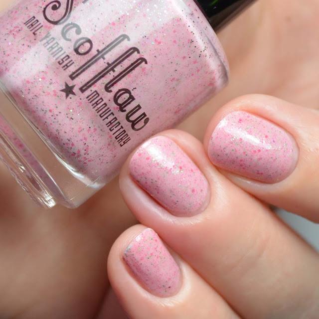 pink jelly nail polish