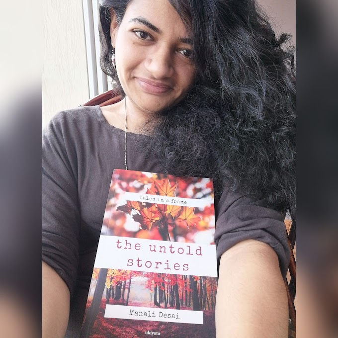 Author Manali Desai – Noting down ideas about the characters of my book helps me write better.
